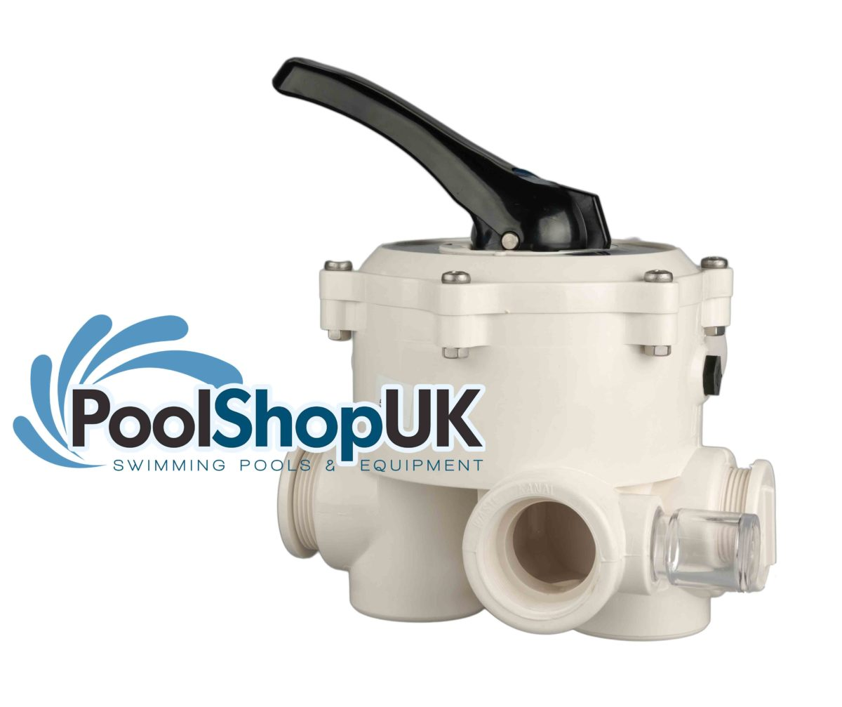 Midas Lacron Swimming Pool Sand Filter Multiport Valve