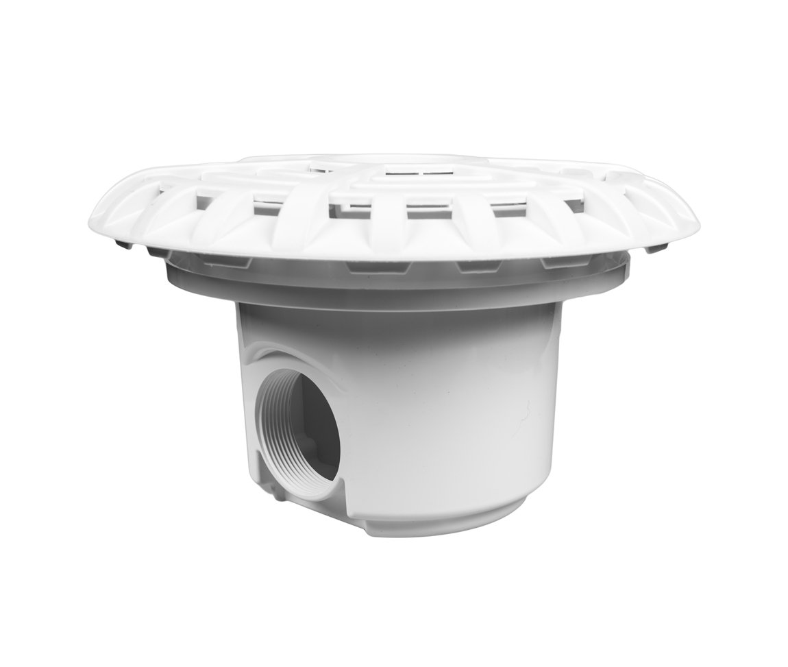 Certikin Main Drain Abs Hd33l For Liner Pools Includes