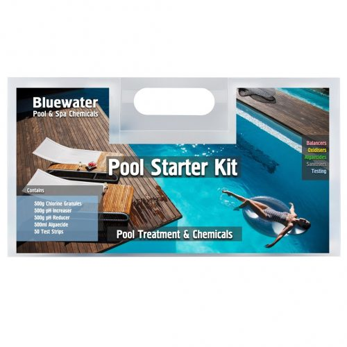 bluewater above ground pool starter kit