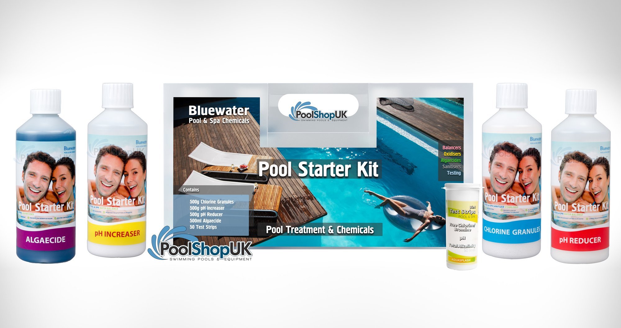 pool shop test kit instructions