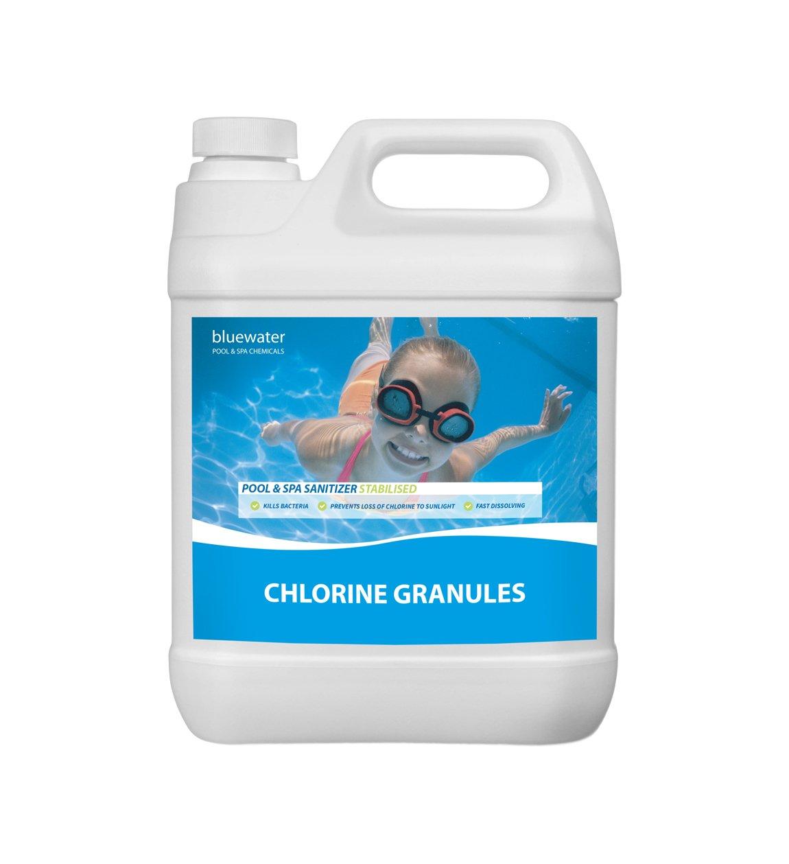 2kg Chlorine Granules Swimming Pool Chemicals Spa