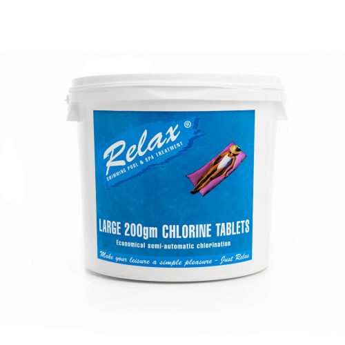 Relax-Large-200g-Pool-Chlorine-Tablets